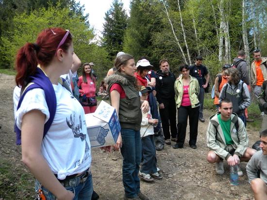 Един от водачите е Силвия Арангелова, експерт в Природен Парк Витоша