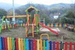 Детската площадка на ул. Гагарин след ремонта