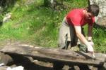 Ремонт на баса с пейки