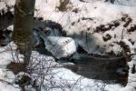 снимка на Ледени образувания на река Танчовица