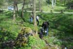 Пикник зоните покрай реката и пътя към Селимица бяха най-замърсени