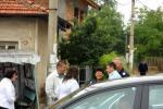 г-жа Янакиева заедно с полицаите от второ районно управление на МВР - Рударци