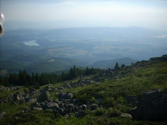 Гледка от връх Острец