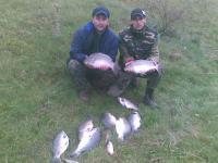 На риболов с приятел в с.Кладница на езерото