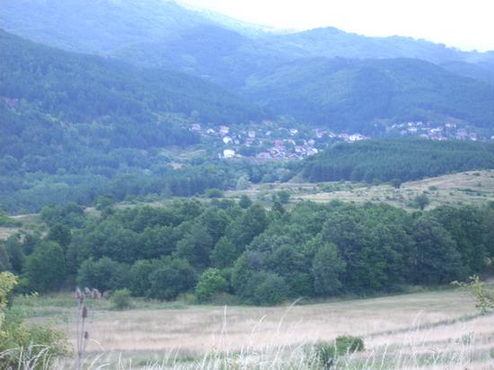 Отново началото на селото