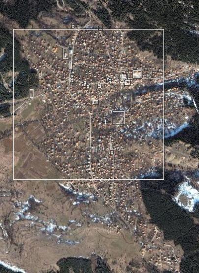 Снимка на Село Кладница от wikimapia.org