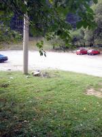 Паркингът на курортния комплекс